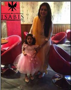 The mother and daughter duo.   Perfect look for the evening :) 😍😘🤗 . . Indo-Western Outfits   Western Outfits   Indian Outfits   Semi-Bridal Outfits   Formal & Semi-Formal Outfits   Kidswear   Call Now: +91 9999 426 653, +91 9999 426 654 #Functions #IndoWestern #Gown #Party #WesternOutfit #IndianOutfit #Detailings #Designs #Colorful #DesignerWear #Delhi #DesignerStudio #Exclusive #IndianWear