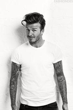 Beckham doing James Dean.