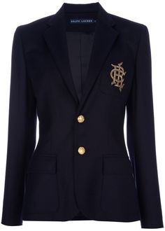 RALPH LAUREN Blue label  EVERY WOMANS -MUST HAVE IN THEIR WARDROBE CAPSULE!! The RL Greenwich Blazer
