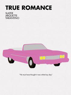 Quentin Tarantino Movie Posters by cody sprague, via Behance
