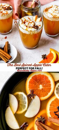 Spiced Apple Cider Apple Cider Drink, Spiced Apple Cider, Spiced Apples, Apple Recipes, Pumpkin Recipes, Fall Recipes, Vegan Recipes, Christmas Recipes, Drinks Alcohol Recipes