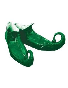 Elf Shoes Green St. Patrick's Day Costume Accessory $25.95