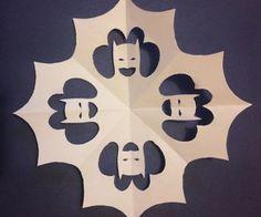 DIY Superhero Snowflakes: Paper Heroes