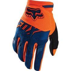 guantes fox 2016 dirtpaw naranja