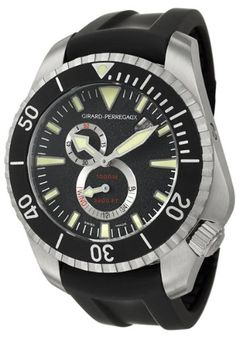Girard-Perregaux Sea Hawk II Pro 1000M Mens Automatic Watch 49950-19-632-FK6A: Watches: www.girardperregauxwatches.com