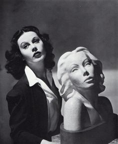 """Movie star Hedy Lamarr was not just a pretty face. The screen siren was an inventor, who sold her engineering patent to the US Navy. Lamarr's """"frequency hopping"""" technology is the backbone of GPS, wireless phones, and most military communications systems."""