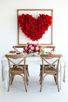 Valentine's Day Heart Backdropcountryliving