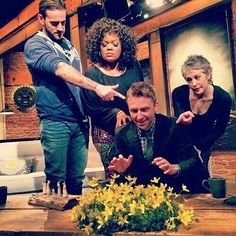 LOL!!!Look at the flowers. The Walking dead.