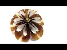 Como hacer flores de papel. Paper flowers. - YouTube