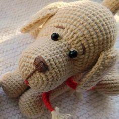Crochet dog amigurumi