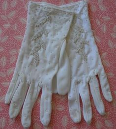 Vintage gloves~remember wearing these to church as little girls?