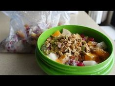 Hotel Room Cooking - Chia Surprise Breakfast Bowl - YouTube
