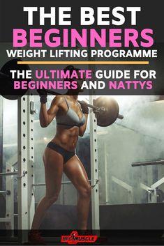 Beginner Weight Lifting Program: (Ultimate training for beginners)
