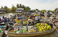 Feeling fruity in the Mekong Delta, Vietnam