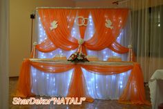 Wedding Stage Backdrop, Wedding Stage Decorations, Anniversary Decorations, Wedding Backdrops, 25th Wedding Anniversary, Wall Backdrops, Princess Wedding, Valance Curtains, Table