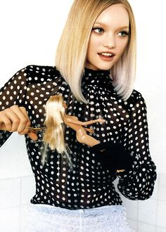 modeavenueparis:  Gemma Ward | Ph. by Mario Testino | French Vogue February 2005