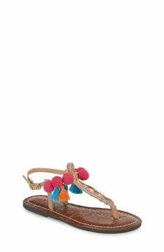 1ebfb91d408c Sam Edelman Gigi Embellished Thong Sandal (Toddler