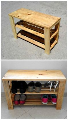 Custom Wooden Pallet Shoe Rack - Why We Love Pallet Projects (And You Should, Too!) | Pallet Furniture DIY - Part 2