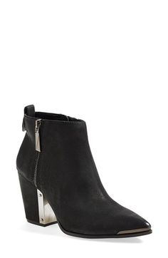 Vince Camuto 'Amori' Pointy Toe Leather Bootie (Women)   Nordstrom