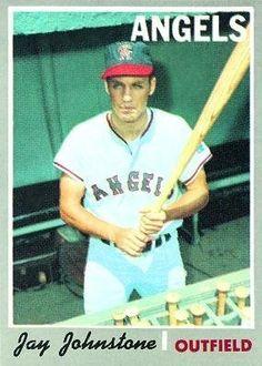 1970 Topps #485 Jay Johnstone - California Angels (Baseball Cards) Very Good-Ex. by Topps. $1.09. 1970 Topps #485 Jay Johnstone - California Angels (Baseball Cards) Very Good-Ex.