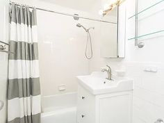 3901 Independence Ave APT 3N, Bronx, NY 10463 | Zillow Living Dining Combo, White Subway Tile Backsplash, Farm Sink, Entry Foyer, Floor Finishes, Kitchen Styling, Home Values, Playroom, Home And Family