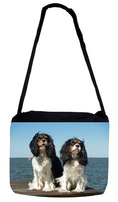 Rosie Parker Inc. TM Medium Sized Messenger Bag 11.75' x 15.5' - Cavalier Puppies *** Visit the image link more details. (This is an Amazon Affiliate link and I receive a commission for the sales)