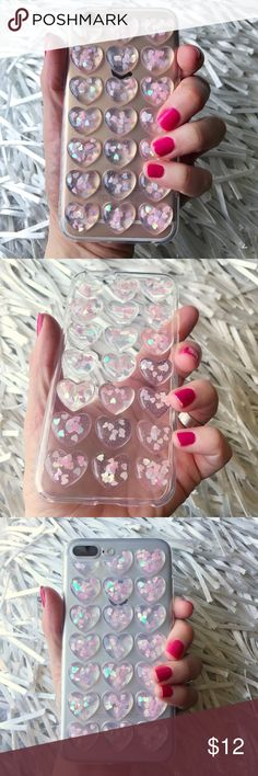 NEW iPhone 6/6s 3D Glitter Soft TPU Case + Glass ▪️Fits iPhone 6 or 6s Models     ▪️High Quality Soft TPU - Thick & Shock-Resistant     ▪️FREE BRAND NEW GLASS SCREEN PROTECTOR   ▪️Same or Next Business Day Shipping !    **Phone Not Included** Accessories Phone Cases