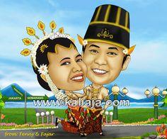 Karikatur Nikah Karikatur wajah digital www.kaliaja.com 081239687221 -29e9d899