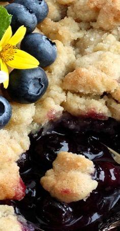 Best Ever Blueberry Cobbler #easy #summer #berries #dessert #recipe