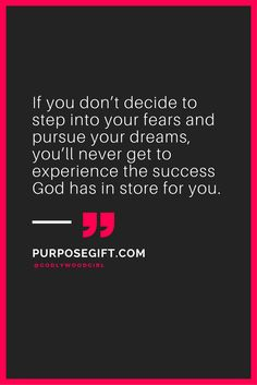Motivational quote --> Learn God's purpose for your life with our free 3-part video training.  Click through to sign up and watch it now on PurposeGift.com.