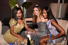 Squad: The most glamorous trio at the bash was clearly Kerry Washington, Georgina Chapman,...