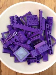 Purple-Lego-Bricks - See our Amethyst Personalized Jewelry at… Purple Love, Purple Lilac, All Things Purple, Shades Of Purple, Dark Purple, Red And Blue, Purple Stuff, Magenta, Mauve