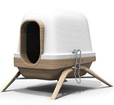 The Chimère line by French design company Bloom Room that debuted recently at Milan Design Week 2012. Why can't all dog stuff be this cool?