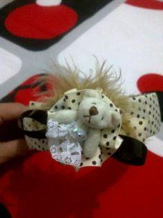 Bear ribbon