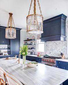 Fresh Floors: Patterned Tile for Any Room - St. Thomas Interior Designer Kitchen Furniture, Rustic Kitchen Cabinets, Kitchen Reno, Kitchen Cabinet Makers, Kitchen Backsplash, Kitchen Ideas, Home Decor Kitchen, Kitchen Design, Farmhouse Kitchen Decor