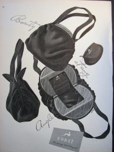 1946 KORET handbag purse vintage accessories ad