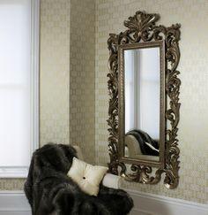 Grande antique mirror traditional mirrors wall mirror