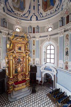 Renaissance chapel in Krasiczyn Castle, southeastern Poland