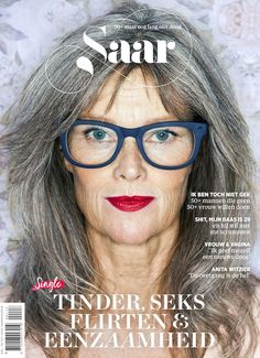 Over-50, owning it and on the cover of a magazine