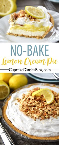 No-Bake Lemon Cream