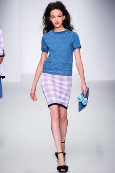Sister by Sibling Spring/Summer 2014 #sisterbysibling #lfw #londonfashionweek #springsummer #fashionweek #2014 #ss14 #fashion #catwalk #runway #fashionshow #model