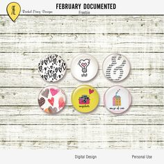 February Documented - Freebie