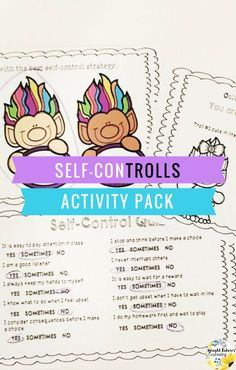 Meet the Self-ConTROLLS! This troll themed activity pack is a fun, interactive way to teach students self-control strategies! Teaching Social Skills, Social Emotional Learning, Counseling Activities, Therapy Activities, Fun Activities, Elementary School Counselor, School Counseling, School Social Work, Social Thinking