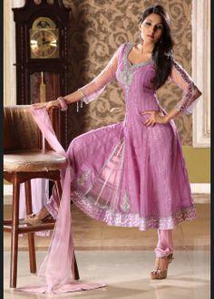 Ethnic Deep Pink Salwar Kameez on Sale US$ 124.97 On sale - http://ethnic-bargains.blogspot.in/2014/01/price-drop-ethnic-deep-pink-salwar.html