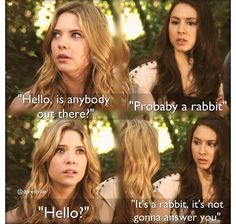 Pretty Little Liars Watch Pretty Little Liars, Prety Little Liars, Hanna Marin Quotes, Mary Drake, Pll Cast, Spencer Hastings, Abc Family, Big Bang Theory, Best Shows Ever