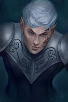Rowan Whitethorn by aleixsart. Queen of Shadows. Empire of Storms. Sarah J Maas