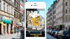 "AUGMENTED REALITY GAMING STEGREIFPROJEKT | Kooperation mit HS Pforzheim | Game-Konzept ""Catch Me"""