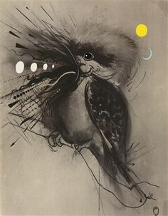 View Kookaburra by Brett Whiteley on artnet. Browse upcoming and past auction lots by Brett Whiteley. Australian Painting, Australian Artists, Avant Garde Artists, Bird Artwork, Art Courses, Poster Prints, Art Prints, Fantastic Art, Animal Paintings