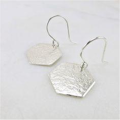 Sterling Silver Dangle Earrings, Drop Earrings, Sleeper Earrings, 14k Gold Jewelry, Silver Gifts, Bridesmaid Earrings, Minimalist Earrings, Modern Jewelry, Dangles
