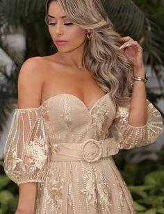Pink Party Dresses, 21st Dresses, Wedding Dresses, Pink Mermaid Dress, Silver Grey Dress, Looks Chic, Rose Dress, Party Fashion, Elegant Dresses